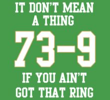 73-9 Dont Mean A Thing If You Aint Got That Ring  Baby Tee