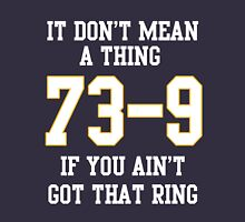 73-9 Dont Mean A Thing If You Aint Got That Ring  Unisex T-Shirt