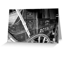 Royal Mail, Hill End. Greeting Card