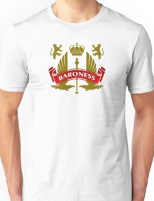 The Baroness Coat-of-Arms Unisex T-Shirt