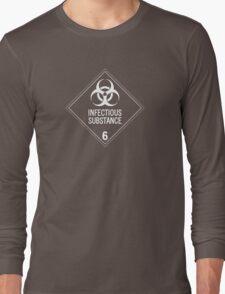 HAZMAT Class 6.2: Biohazard Long Sleeve T-Shirt