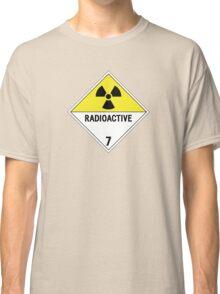 HAZMAT Class 7: Radioactive Classic T-Shirt