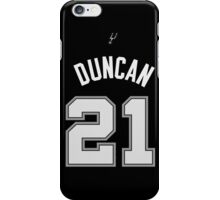 Tim Duncan iPhone Case/Skin