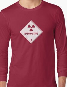 HAZMAT Class 7: Radioactive Long Sleeve T-Shirt