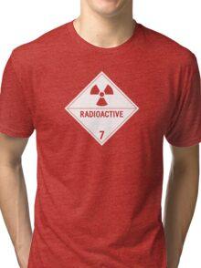 HAZMAT Class 7: Radioactive Tri-blend T-Shirt