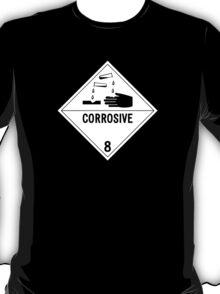 HAZMAT Class 8: Corrosive T-Shirt