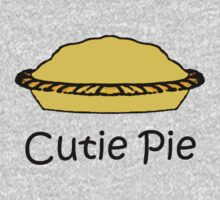 Cutie Pie - Words with Pie Cartoon Kids Clothes