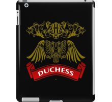 The Duchess Coat-of-Arms iPad Case/Skin