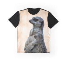 Alert Meerkat Graphic T-Shirt