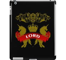 The Lord Coat-of-Arms iPad Case/Skin