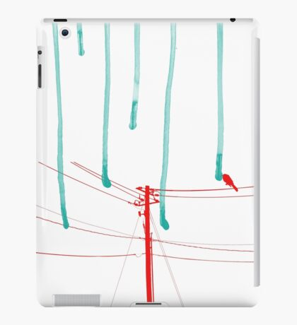 Wire Wire Telephone iPad Case/Skin