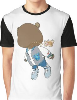 Kanye West Teddybear Graduation  Graphic T-Shirt