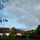 Rainbow over East Kilbride by ElsT
