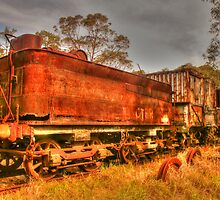 Rusty Railway Relics by Michael Matthews