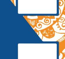 Bucknell University doodle Sticker