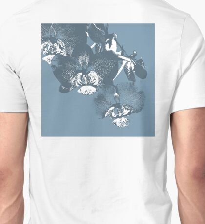 Homescape - wedgewood blue orchid  Unisex T-Shirt