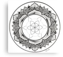 """""""Flower of Life Delight"""" Canvas Print"""
