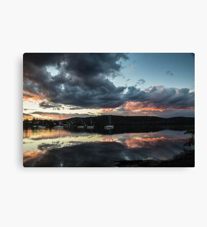 Aglow Canvas Print