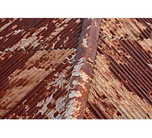 Rusty roof, Hill End. Photographic Print