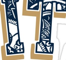 Pittsburgh University doodle PITT Sticker