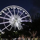 The Big Wheel at night  by Antionette
