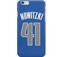 Dirk Nowitzki iPhone Case/Skin