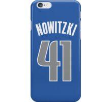 Dirk Nowitzki iPhone Case/Skin