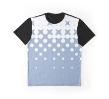 Homescape - Tones in blue and white Graphic T-Shirt
