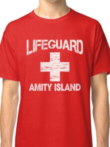 Life Guard Amity Island Classic T-Shirt