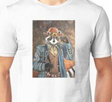 Steam Punk Raccoon Unisex T-Shirt
