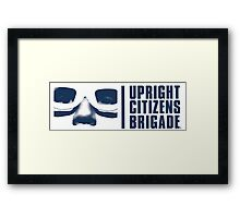 UCB - Blue Framed Print