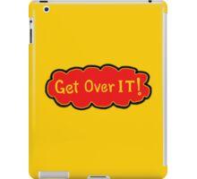 A sacred message TEE iPad Case/Skin