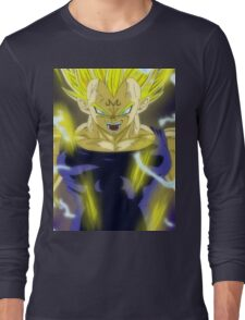 Vegeta Anger Long Sleeve T-Shirt