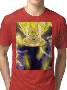 Vegeta Anger Tri-blend T-Shirt
