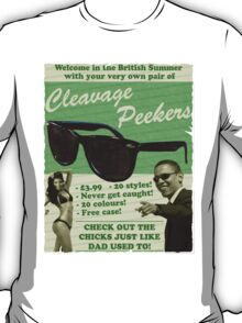 Cleavage Peekers T-Shirt