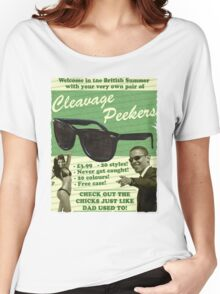 Cleavage Peekers Women's Relaxed Fit T-Shirt