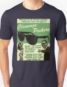 Cleavage Peekers Unisex T-Shirt