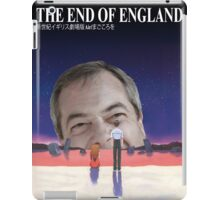 The End of England iPad Case/Skin