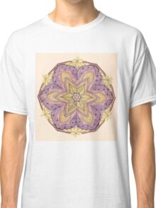 Tangled Mandala in Color Classic T-Shirt