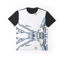 Homescape - Mystic in blue, white and mushroom  Graphic T-Shirt