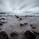 On the Rocks - Burleigh Heads Qld Australia by Beth  Wode