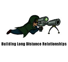 Building Long Distance Relationships Photographic Print