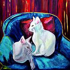 Cat Paintings Calendar by hickerson