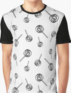 Lollipop Engraving  Graphic T-Shirt