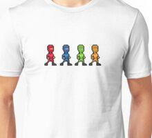 Pixel Art Multi-Coloured Sprite People Unisex T-Shirt
