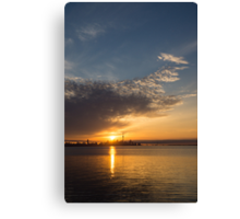 Good Morning, Toronto with a Glorious Sunrise Canvas Print