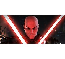 Darth Malgus Photographic Print