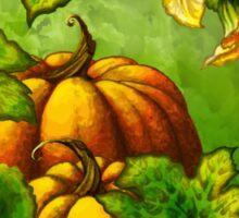 Pumpkin Harvest Sticker