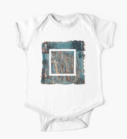 Extraction 1 - oil painting One Piece - Short Sleeve