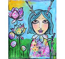 Spring Doll Photographic Print